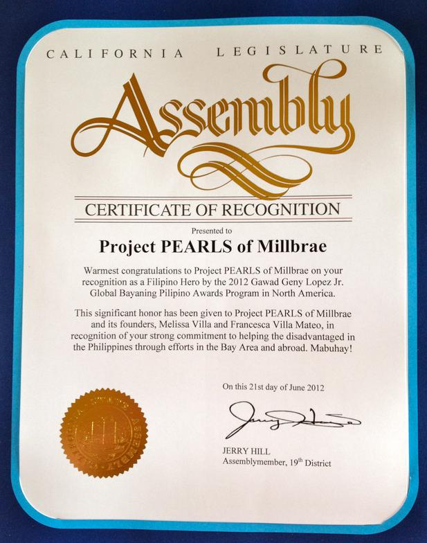California legislature assembly certificate of recognition project california legislature assembly certificate of recognition yadclub Gallery