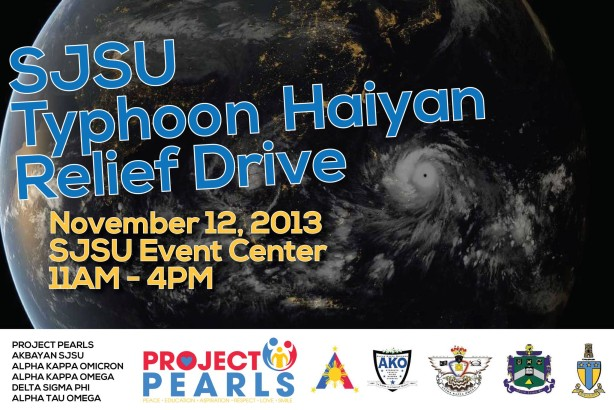 SJSU relief drive