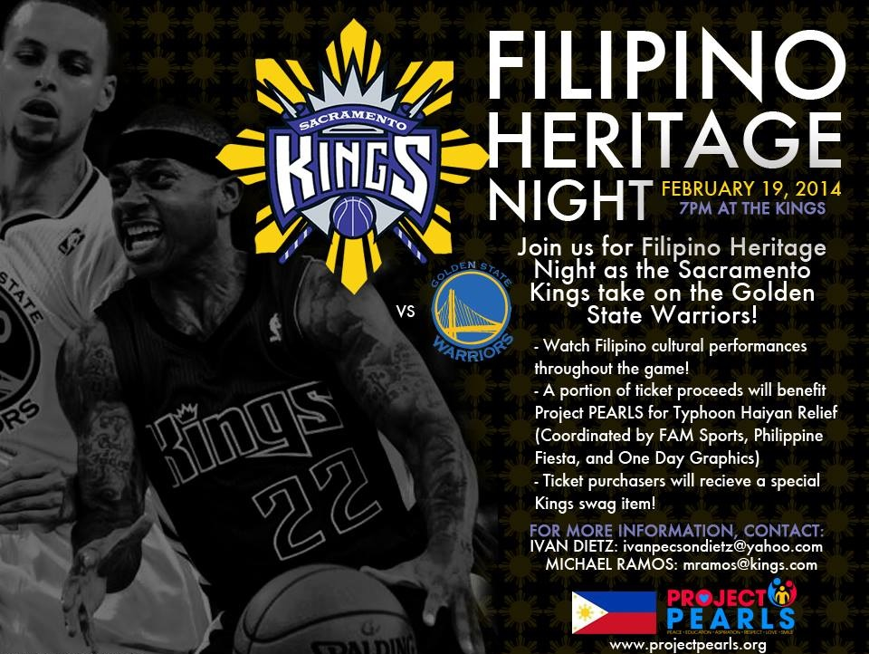 Thank You NBA Sacramento Kings!!! - Project PEARLS - Project