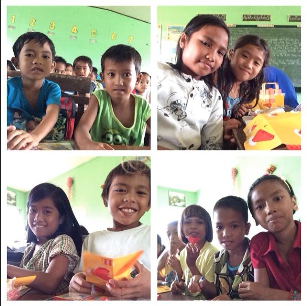 Fourth Stop: Limburan Elementary School, Burauen, Leyte