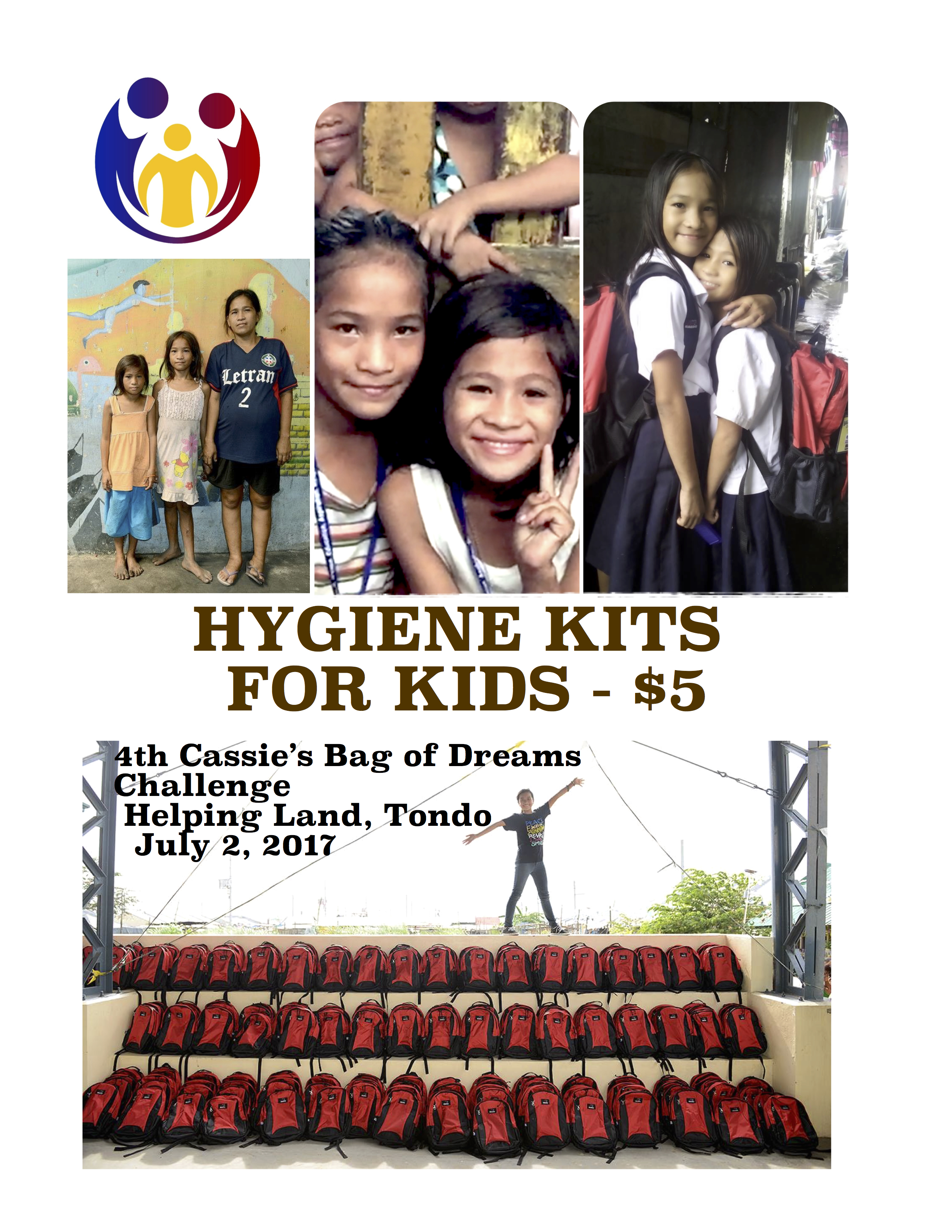 Hygiene Kits for Kids